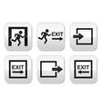 Emergency exit buttons set vector | Price: 1 Credit (USD $1)