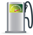 green petrol pump vector image vector image