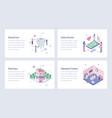 medical and healthcare isometric vector image