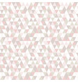 pastel color triangle seamless pattern abstract vector image