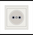 power electrical outlet vector image vector image