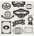 Retro Vintage Logotypes vector image vector image