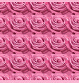 seamless pattern pink lavender garden rose vector image
