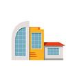 shop store facade exterior of market modern vector image vector image
