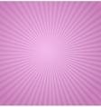 Sun Sunburst Pattern Retro vector image vector image