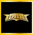 super hero boy power full typography t-shirt vector image