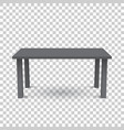 3d table for object presentation empty black top