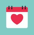 calendar time management concept schedule vector image