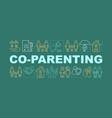 Co-parenting concepts banner