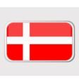 denmark icon vector image