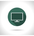 TV or monitor icon vector image vector image
