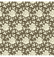 Cultural floral patterns vector image