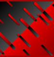 dark abstract tech minimal geometric background vector image vector image