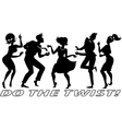 Do the Twist vector image vector image