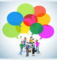 flat design people vector image vector image