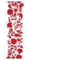 floral seamless pattern design element flower vector image