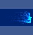 futuristic technology destroying artificial