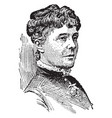 rose elizabeth cleveland vintage vector image vector image