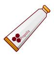 toothpaste propolis icon cartoon style vector image vector image