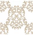 Vintage Classic Damask Pattern vector image vector image