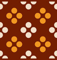 berry dots seamless pattern vector image