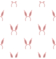 Bunny headband icon in cartoon style isolated on vector image