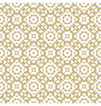 golden mosaic luxury seamless abstract pattern vector image vector image