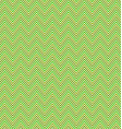 Green zig zag stripe pattern background vector image vector image