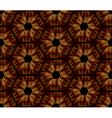 Mosaic hexagons pattern vector image