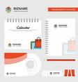 online shopping logo calendar template cd cover vector image vector image