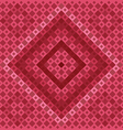 Red Square Pattern vector image vector image