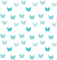 Seamless colorful butterfly pattern vector image vector image