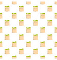 big bag money pattern seamless vector image