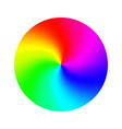 color wheel abstract colorful rainbow vector image vector image