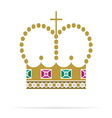 Crown icon2 resize vector image vector image
