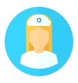 medical nurse icon vector image