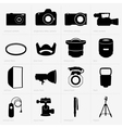 Photo equipment vector image