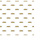 small heater pattern seamless vector image vector image