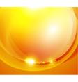 Sunshine orange background vector image vector image
