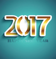 typography new year background design 0311 vector image vector image