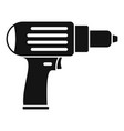 screwdriver icon simple style vector image vector image