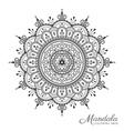 Tibetan mandala decorative ornament design vector image vector image