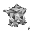 France map polygon vector image
