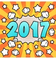 Happy new 2017 year vector image vector image