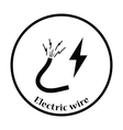 Icon of Wire vector image vector image