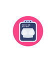 mammogram icon on white vector image