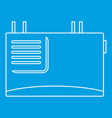 wall router icon outline style vector image vector image