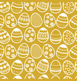 happy easter repetition background vector image
