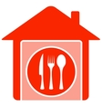 home food symbol vector image vector image
