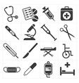 icon medical vector image vector image